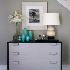 Modern Living Room by Christopher Burns Interiors