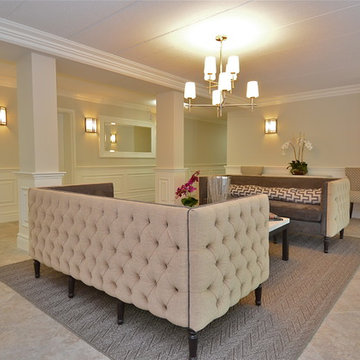 A Morristown Highrise Apartment Building Re-Imagines The Lobby