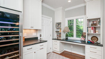 A New Bay Window addition makes a great functional kitchen with great views