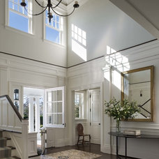 Traditional Entry by John B. Murray Architect