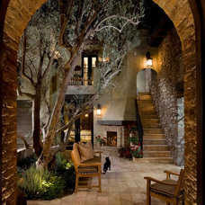 Mediterranean Entry by South Coast Architects, Inc.
