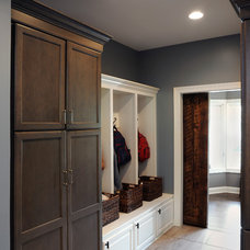 Traditional Entry by Dave Fox Design Build Remodelers