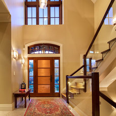 Contemporary Entry by Peter Rose Architecture and Interiors