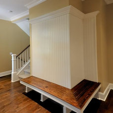 Traditional Entry by Stroble Building Company