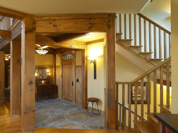 Traditional Entry by Cushman Design Group