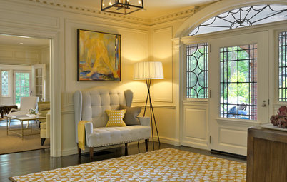 Entryway Settees Open the Door to Hospitality