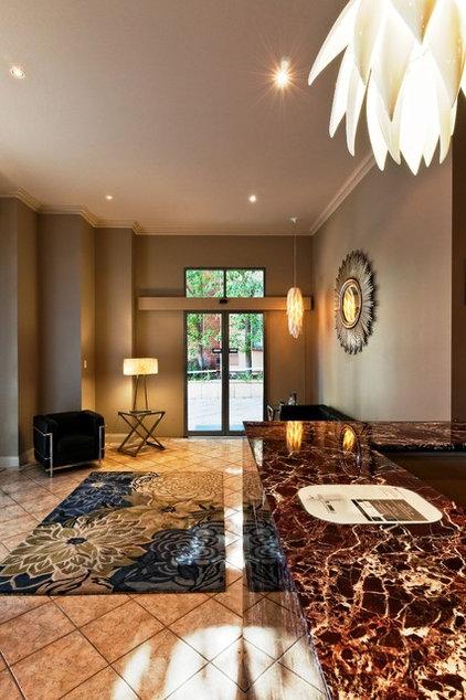 Contemporary Entry by Agatha O House of Design - decoration + design