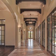 Mediterranean Entry by AJ Design Studio
