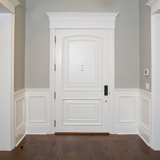 Traditional Entry by Fautt Homes