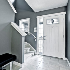 Contemporary Entry by Shane Homes Ltd.