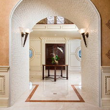 Traditional Entry by Anna Marie Fanelli - Floor & Decor