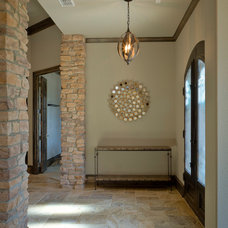 Traditional Entry by Anderson Fine Homes