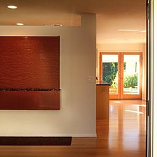 Contemporary Entry by Duvivier Architects