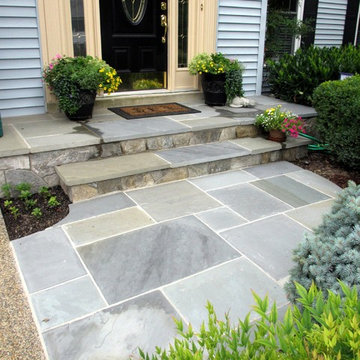 Amazing Centreville Front Entry Makeover