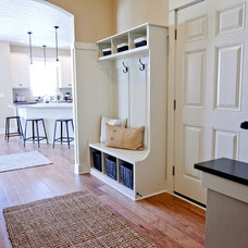 Transitional Entry by Jim Tibbe Homes
