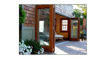 Amberwood Doors Panoramic TM Bi-Folding Door System