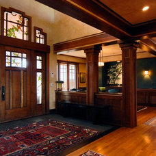 Craftsman Entry by TKP Architects