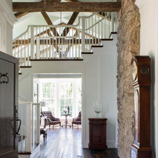 Farmhouse Entry by Donald Lococo Architects