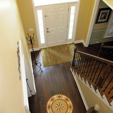 Traditional Entry by Amy's Affordable Interiors