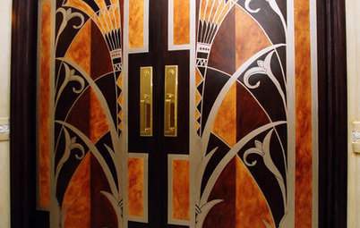 Art Deco Elements Create a Contemporary Flap