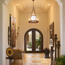 Mediterranean Entry by Pekarek Crandell Architects