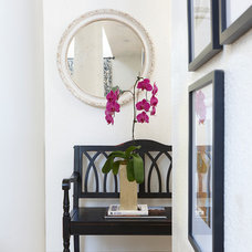Eclectic Entry by Daniella Villamil Interiors