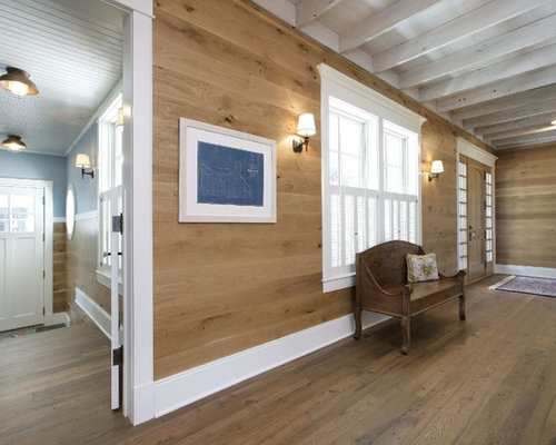 Stained Wood Walls Home Design Ideas Pictures Remodel