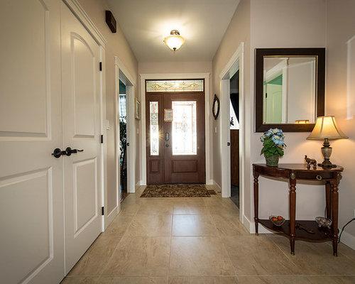 Craftsman Entryway Design Ideas Remodels Photos With A
