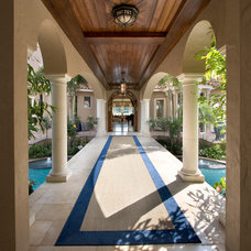 Mediterranean Entry by Silver Sea Homes