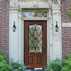 traditional entry by US Door & More Inc