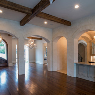 Arched Entertaining - Dinning Room & Home Bar Alcove
