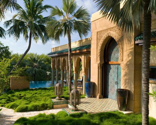 Moroccan Garden | Houzz