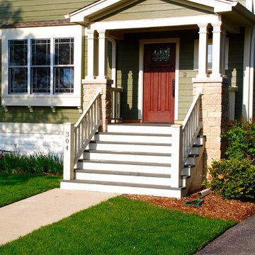 Arlington Heights, IL Remodel James Hardie Siding Marvin Windows