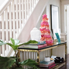 Eclectic Entry by Laura Collins Design