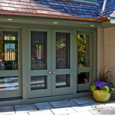 Traditional Entry by Ellen Happ Architect
