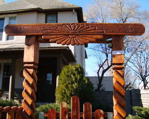 Southwestern Gate Home Design Ideas Pictures Remodel And Decor