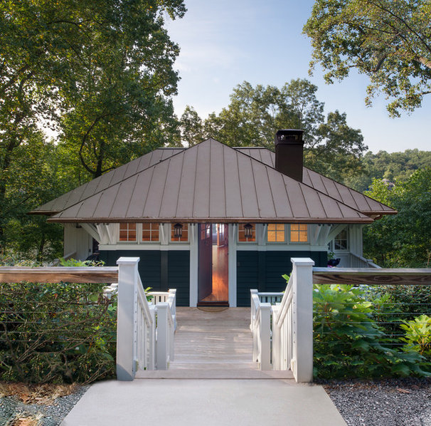 Craftsman Entry by Donald Lococo Architects