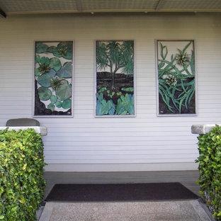 Entryway - tropical entryway idea in Hawaii