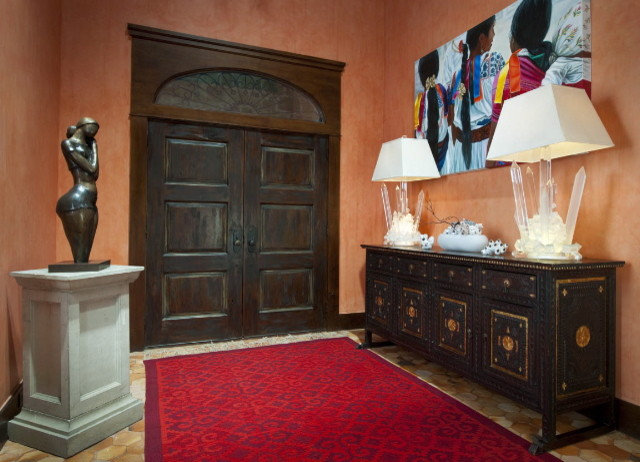 Southwestern Entry by Astleford Interiors, Inc.