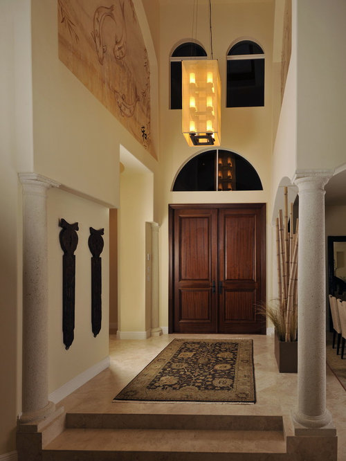 Japanese Foyer Design : Asian entryway design ideas remodels photos