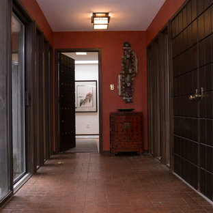 Asian-inspired Foyer and Entrance Room