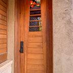 Arts Amp Crafts Redwood Entry Gate Los Angeles Craftsman