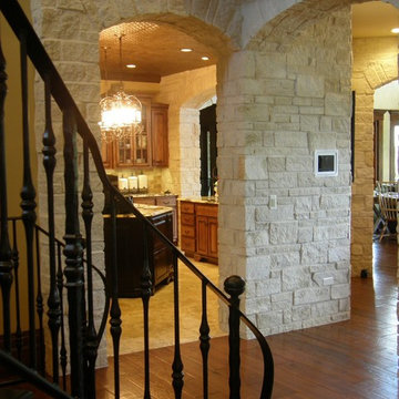 Athens Natural Thin Stone Veneer Interior Entry Foyer