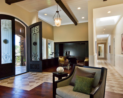 Best Wood And Tile Floor Combination Design Ideas & Remodel