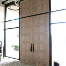 Contemporary Entry by Riverwoods Mill