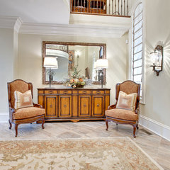 traditional entry by Fowler Interiors