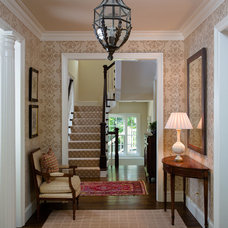 Traditional Entry by Kathleen Kellett Interiors