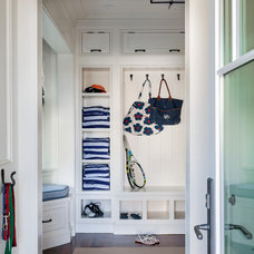 Beach Style Entry by Patrick Ahearn Architect