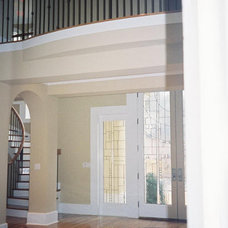 Contemporary Entry by AHB General Contractors