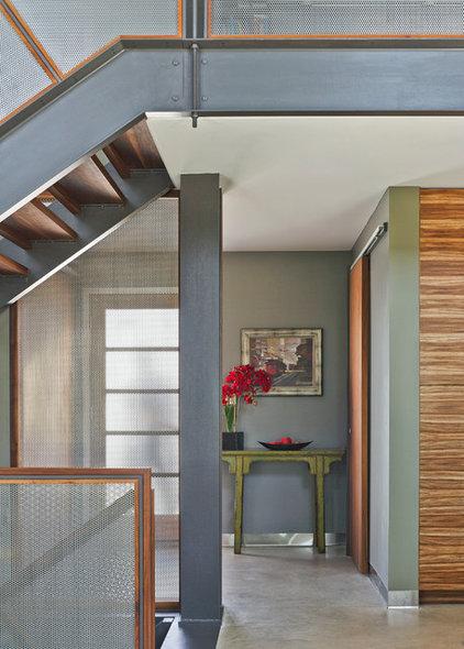 Modern Entry by Brown + Davis Design